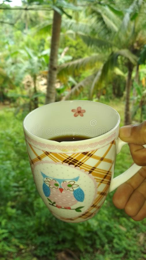 Caffè di Goodmorning immagini stock