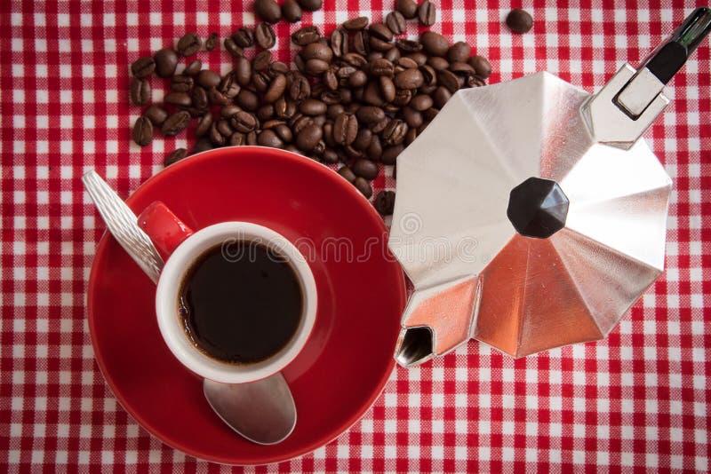 Caffè di mattina immagini stock