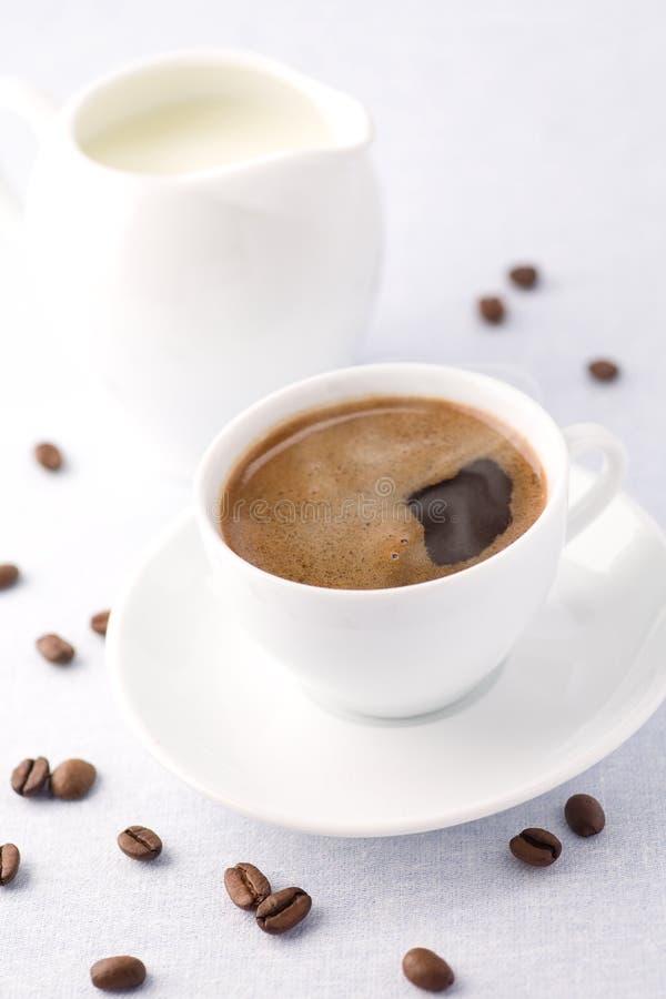 Caffè di mattina fotografie stock