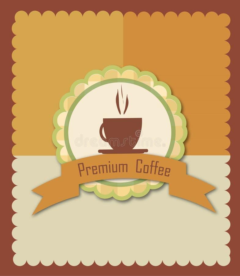 Caffè di premio illustrazione di stock