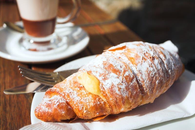 Caffè di primo mattino fotografie stock