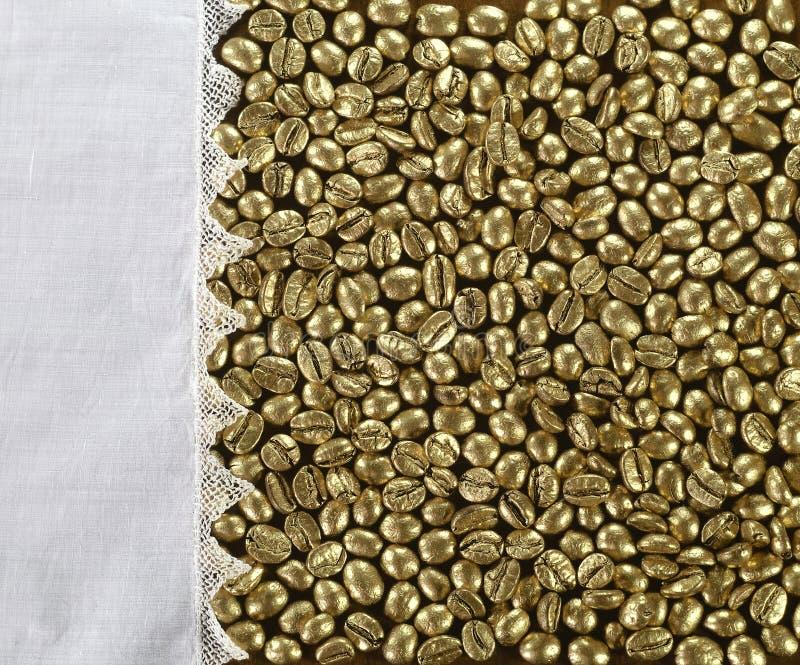 Caffè dorato immagine stock
