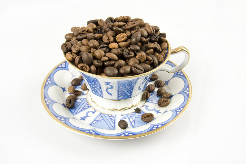 Caffè duro fotografie stock