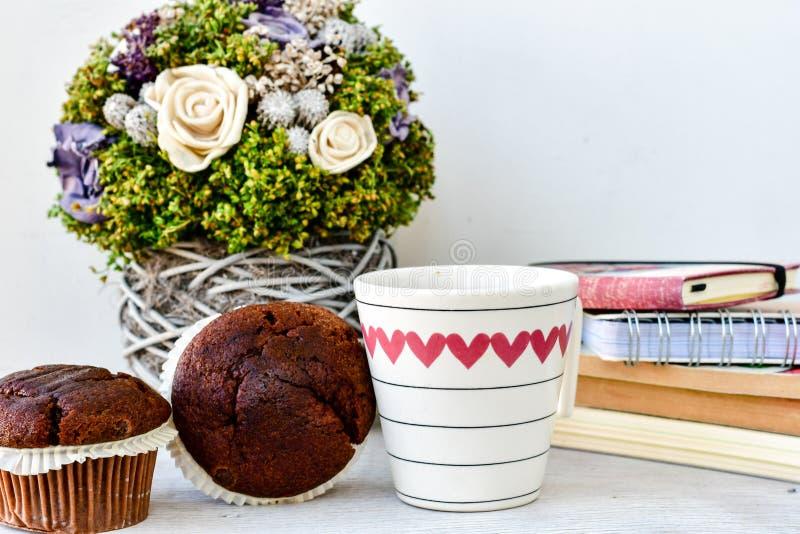 Caffè e muffin immagini stock libere da diritti