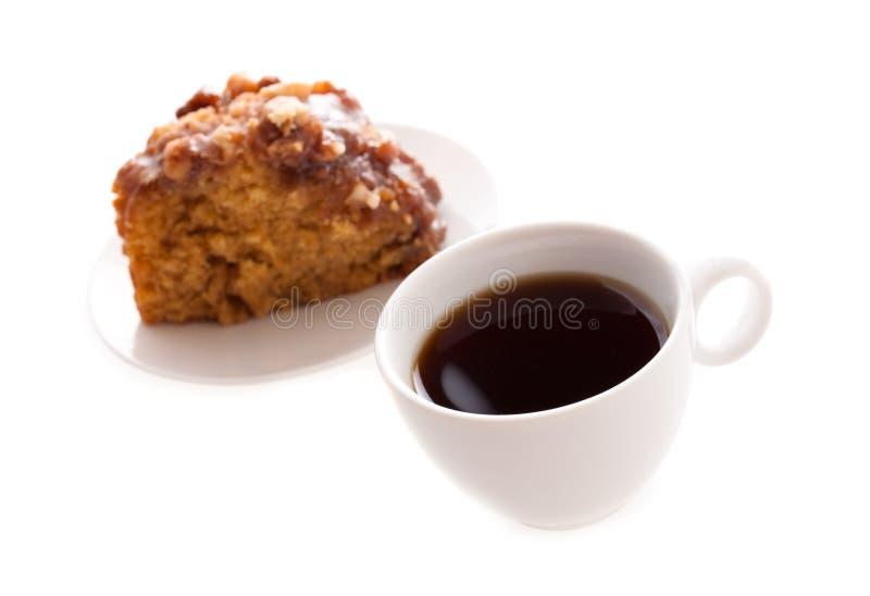 Caffè e torta fotografia stock libera da diritti