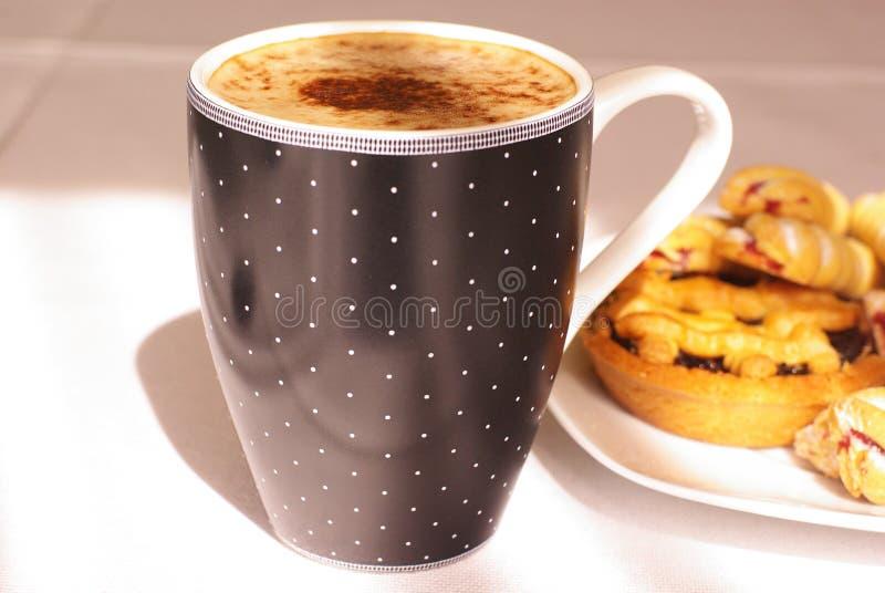 Caffè e torte immagine stock