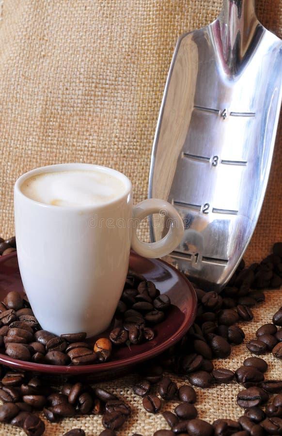 Caffè espresso di Kaffee fotografie stock libere da diritti