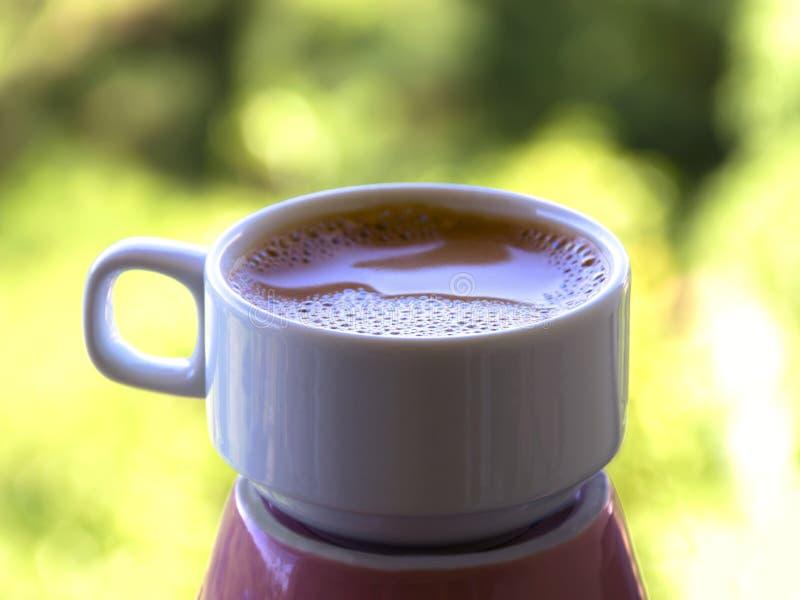 Caffè espresso di pomeriggio immagini stock