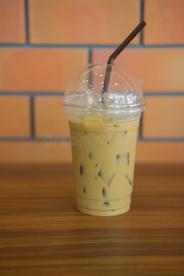 Caffè espresso freddo fotografia stock