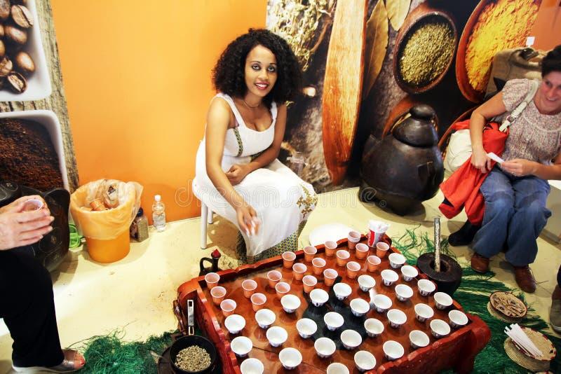 Caffè etiopico immagini stock