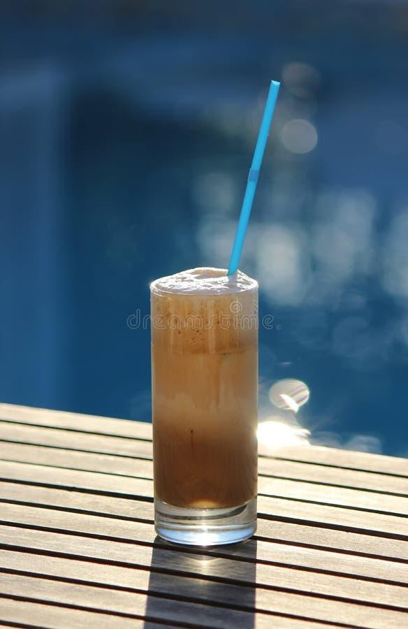 Caffè Frappe immagini stock