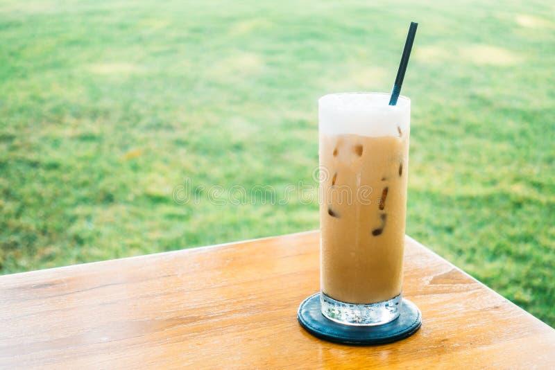 Caffè ghiacciato immagine stock