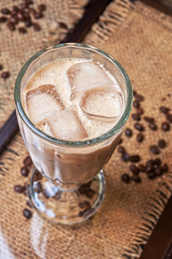 Caffè ghiacciato fotografia stock libera da diritti