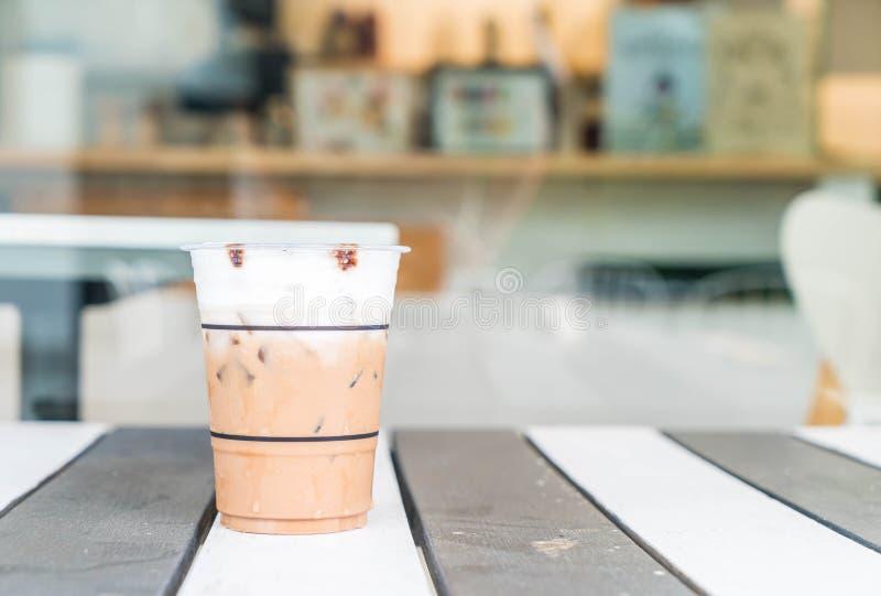 caffè ghiacciato di mocca immagine stock libera da diritti