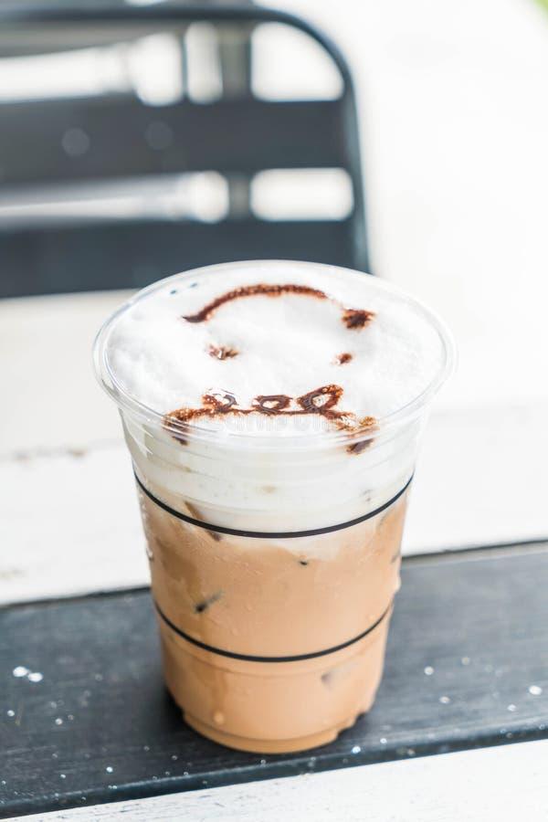 caffè ghiacciato di mocca immagini stock libere da diritti