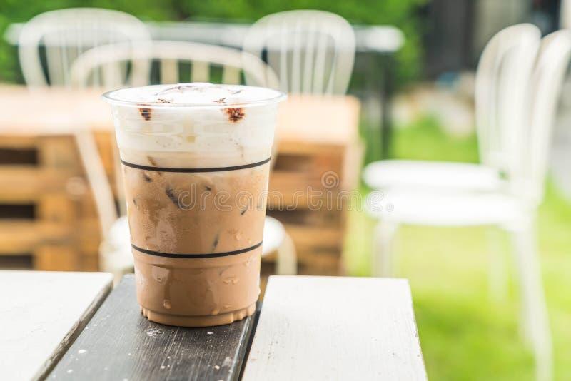 caffè ghiacciato di mocca fotografia stock