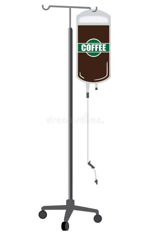 Caffè IV di emergenza illustrazione di stock