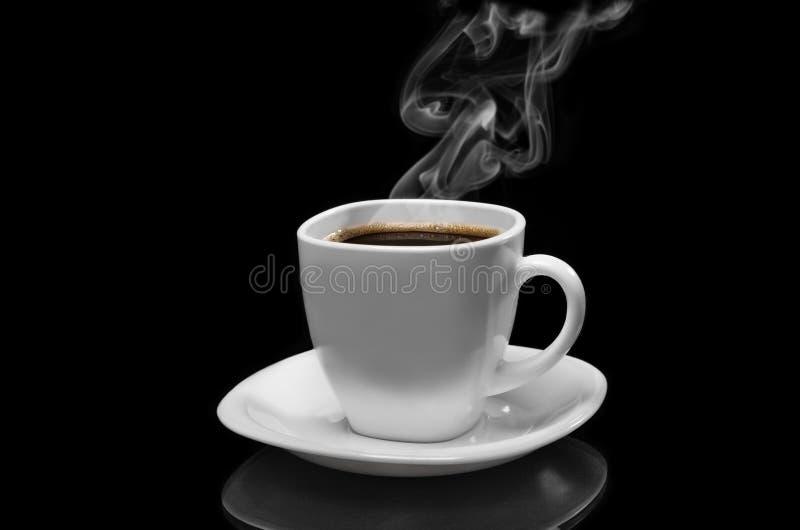 Caffè molto caldo fotografia stock libera da diritti