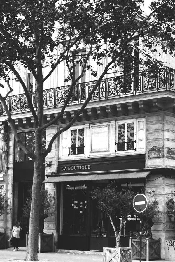 Caffè parigino immagine stock libera da diritti