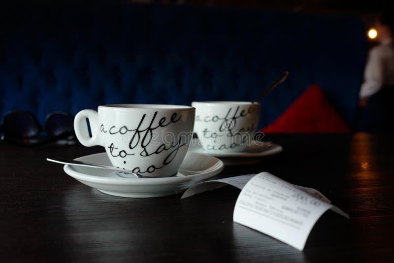 Caffè per due immagine stock
