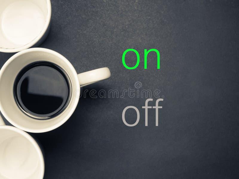Caffè sopra fotografie stock libere da diritti