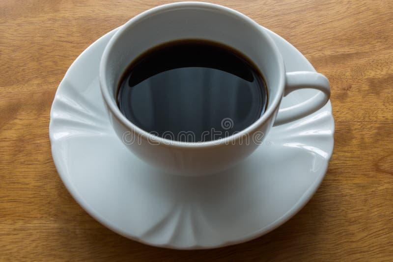 Caffè, tazza, tavola, bianco, il nero, caffè espresso, bevanda, prima colazione, mattina, aroma, MU immagini stock