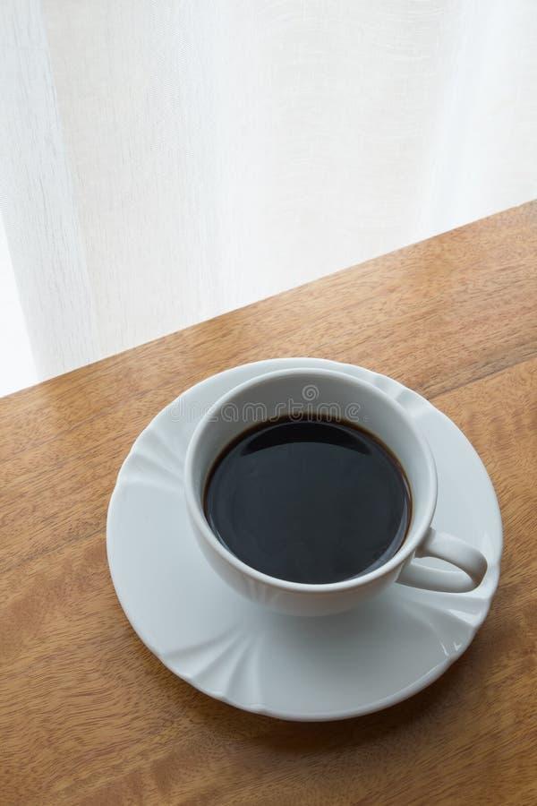 Caffè, tazza, tavola, bianco, il nero, caffè espresso, bevanda, prima colazione, mattina, aroma, MU fotografia stock