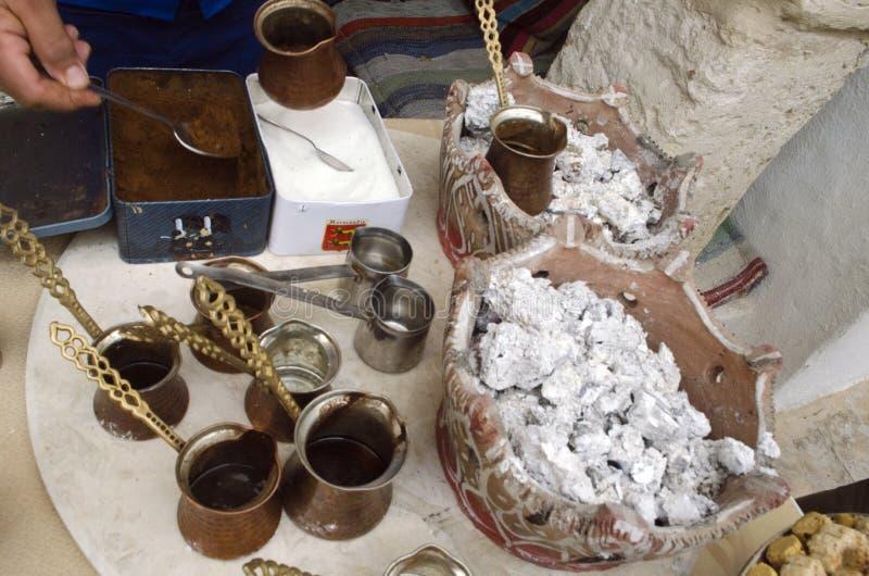 Caffè tunisino immagine stock