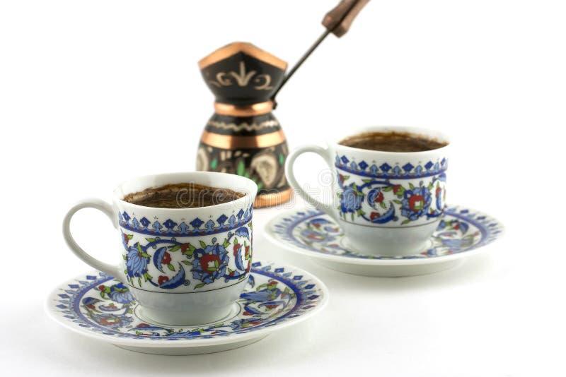 Caffè turco fotografia stock