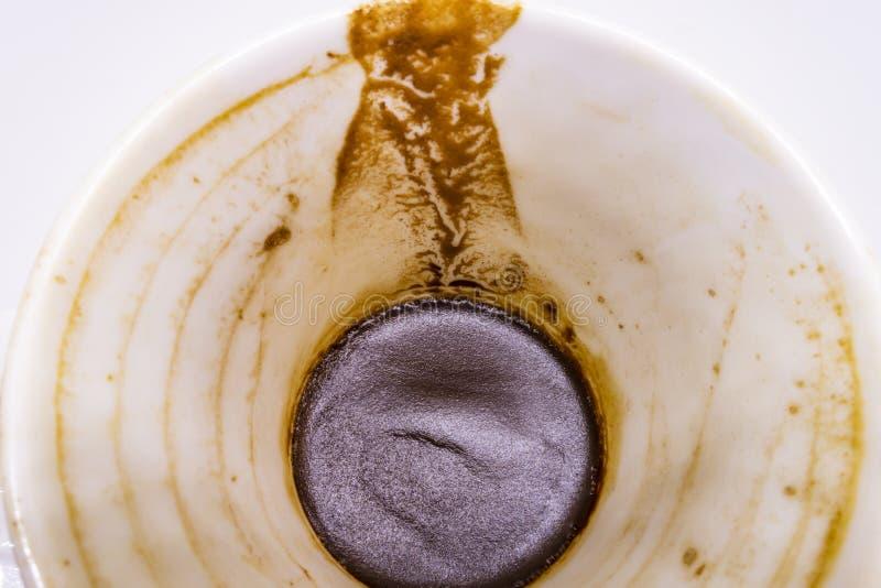 caffè turco e fortuna del caffè nella tazza fotografia stock libera da diritti