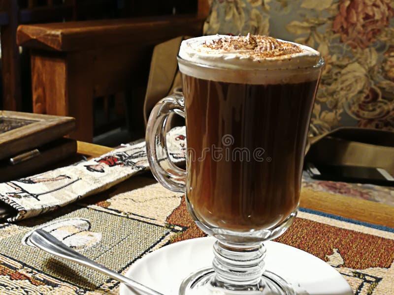 Caffè viennese delizioso fotografia stock
