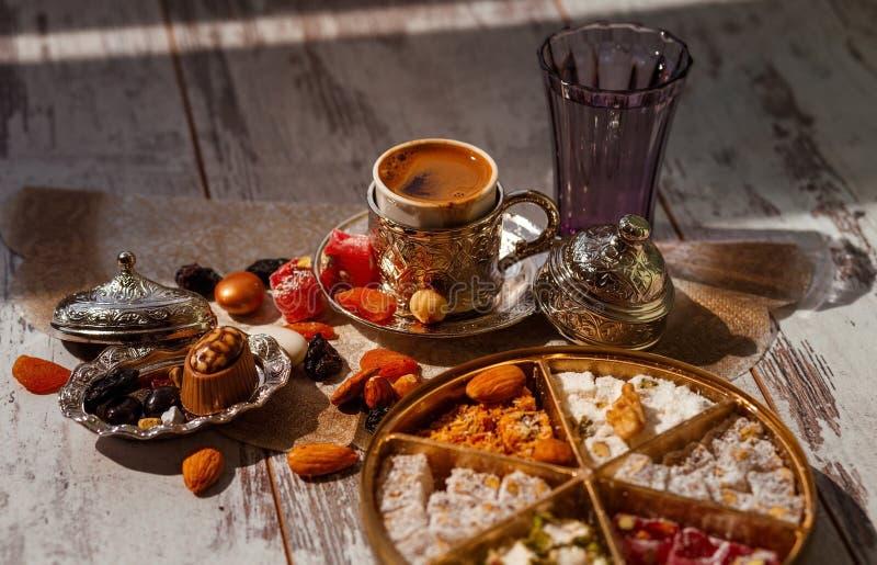 Caff? turco tradizionale su Bayram immagine stock libera da diritti