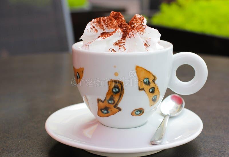 Caff? viennese fotografia stock libera da diritti