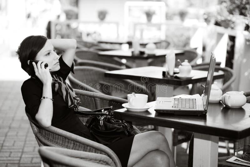 caffe arkivbild
