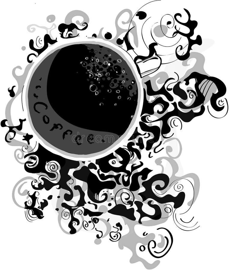 Caffe d'Arabe illustration libre de droits