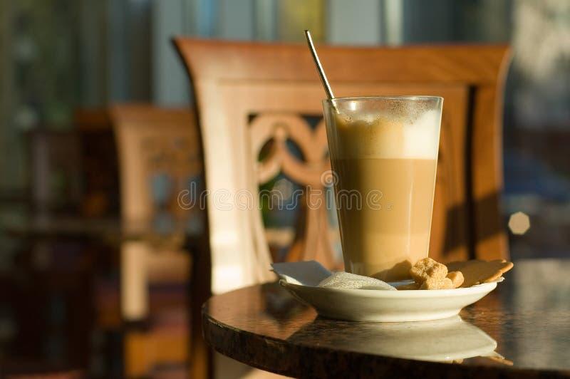 caffe latte 库存图片