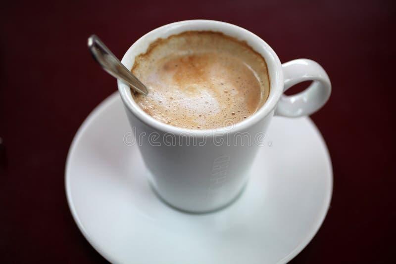 caffe latte 库存照片