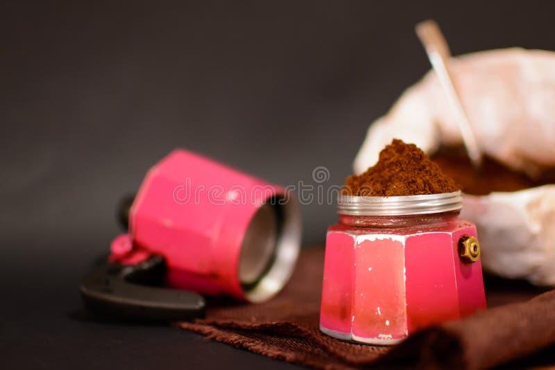 Caffe-napoletano stockfotos