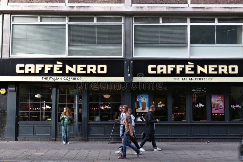 Caffe Nero, Londres foto de stock royalty free