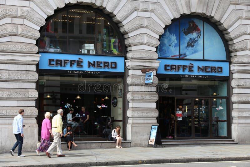 Caffe Nero fotos de stock