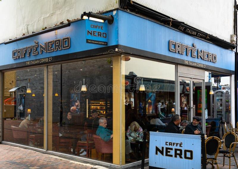 Caffe Nero Swindon fotografia de stock royalty free