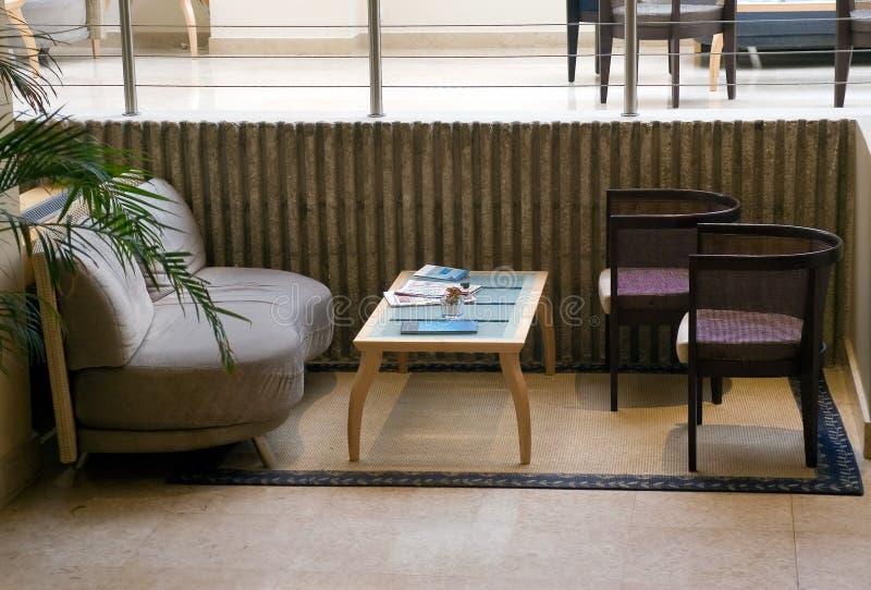 Caffee do hotel imagens de stock royalty free