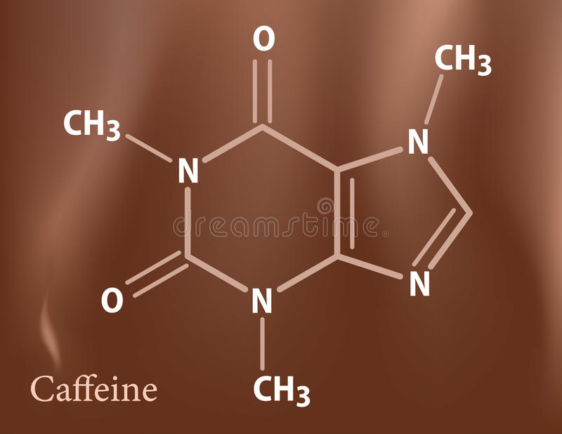 Download Caffeine formula stock vector. Illustration of drink - 15413465