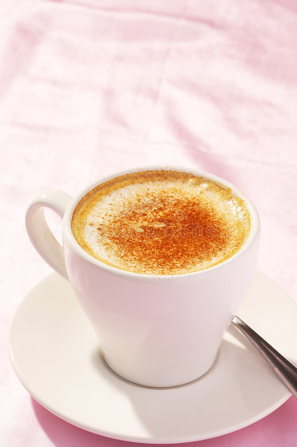 Caffeine mug stock photography