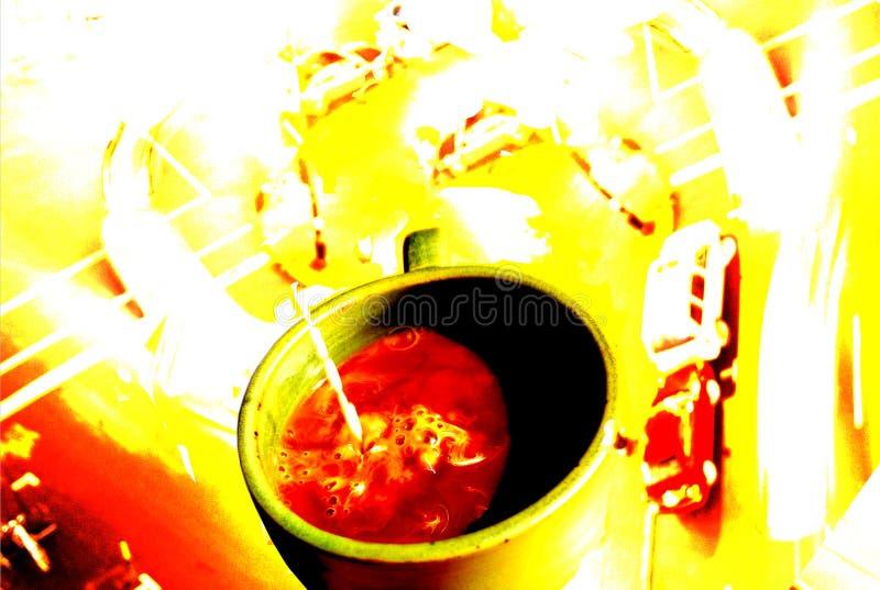 Caffeine Rush royalty free stock photos