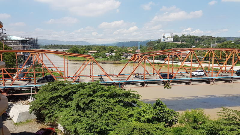 Cagayan-Brücke stockbilder