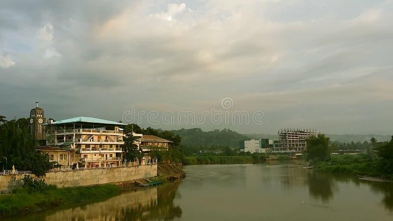 Cagayan de Oro, Misamis oriental, Mindanao, Filipinas fotografia de stock