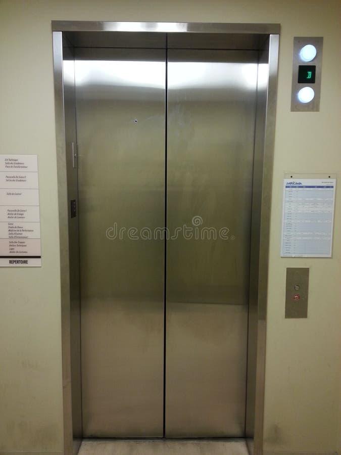 Cage d'ascenseur photo stock