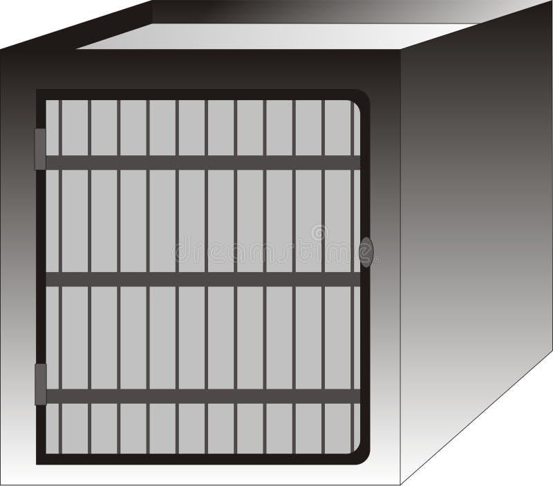 Cage de crabot illustration de vecteur