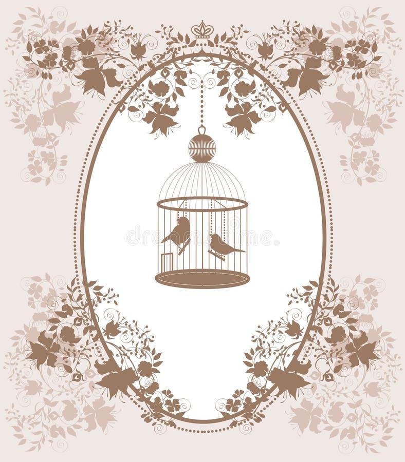 Cage de cru illustration libre de droits